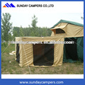 Outdoor 4x4 car roof foxwing awning made in china top supplier