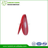 Double Sided Acrylic Adhesive Transparent Tape With Red Liner