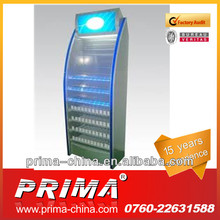 OEM / Custom Metal Locked Display Shelves from Prima in Guangdong with 15 Years Experience and High Quality