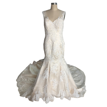 China OEM Long Wedding Dress/Tulle Wedding Gown