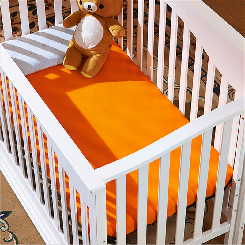 Super Soft 100% Organic Cotton Crib or Toddler Sheet Set,Baby Bed Sheet
