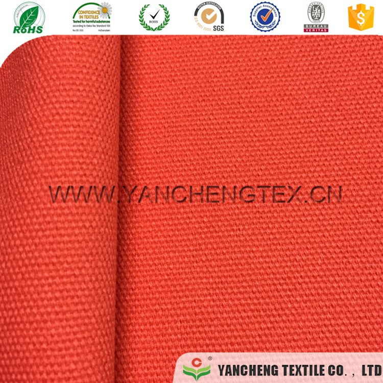 Factory sale various waterproof polyester canvas fabric for tent