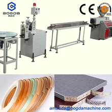 Plastic deco pvc edge banding production profile extrusion line