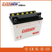 Evernew CHANGXIN 12Volt 6.5Ah 12N6.5-3B Flooded Rechargeable Motorcycle Battery
