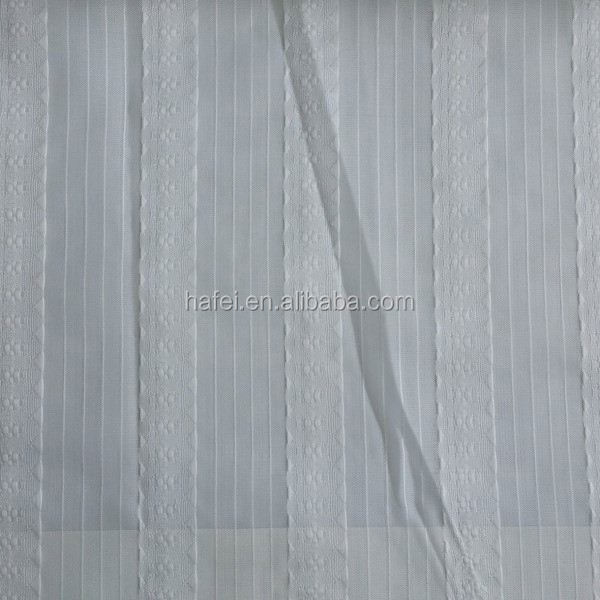 Hotel 100% polyester fabric 2014 christmas lace curtains