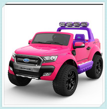 Hot selling Licensed ford ranger ride on car for big kids, pick up truck with MP4 Player
