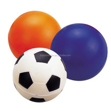 football soccer stress pu foam ball