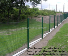 Green PVC coated Garden Fence road protect fence for sale