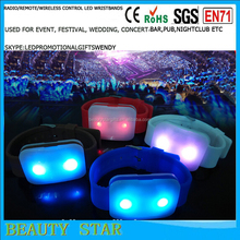 Customized flashing led wristbands for special party,concert,festival,event