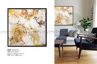 Living room art canvas oil painting semi abstract painting