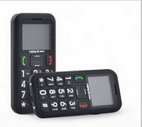 Brand new big red button 2014 gift sos emgency senior phone with high quality