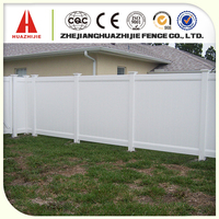 pvc plastic small wooden fence garden