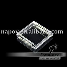 transparent crystal hard case for ipod Nano 6(Paypal available)