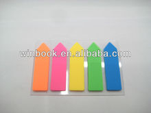 New Tape Colorful Arrow Shaped PET Sticky Note