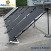 Aging Resistant Compact Pressurized Solar Heating