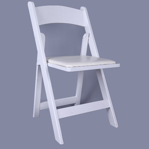 cheap white wooden wedding folding chairs for parties