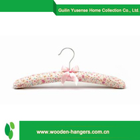 chinese products wholesale satin padded wedding dress hanger