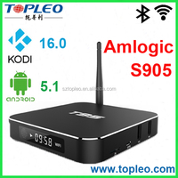 T95 Amlogic S905 full hd media player 1080p TV Box