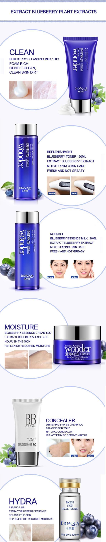 bioaqua blueberry essence hydrating moisturizing skin care Hihg-level gift for girlfriend
