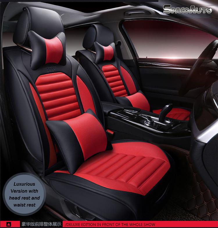 ... Unique Design Leather Fur Car Seat Cover ...