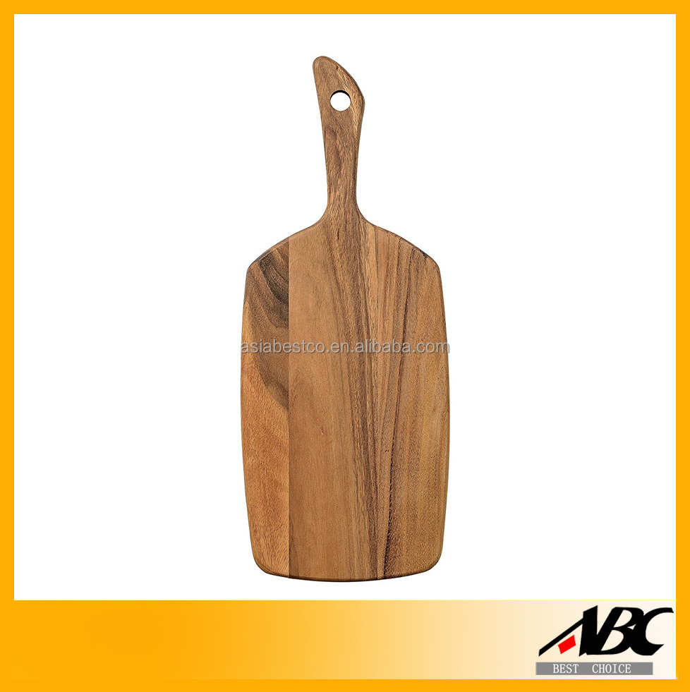 High Quality Wine Bottle Shape Wood Cutting Board