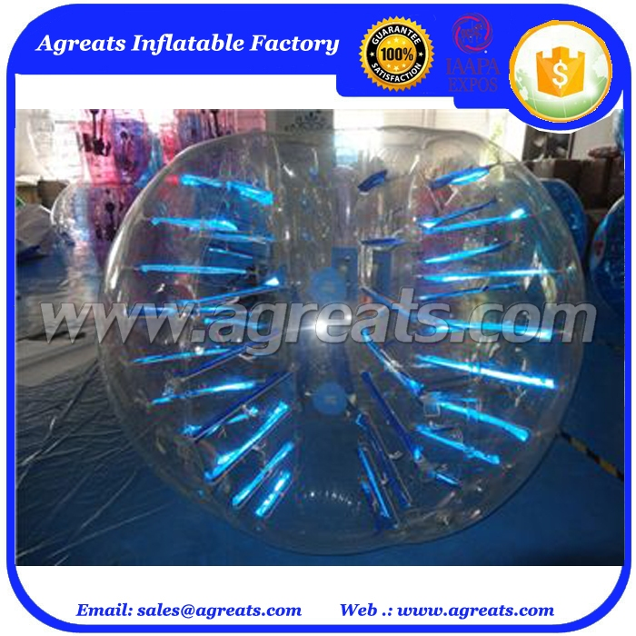Kids lighting bubble ball soccer cheap bubble soccer ball GB7309