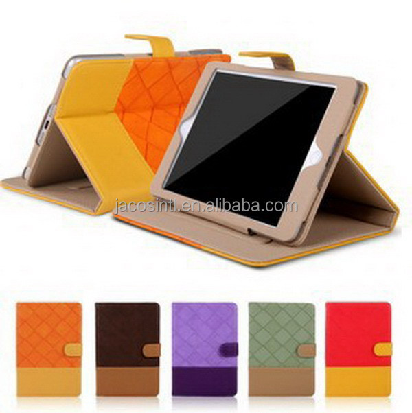 Classic design promotional for ipad case horizontal vertical