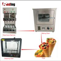 Pizza Making Production Line / Cone Pizza Vending Machine For sale