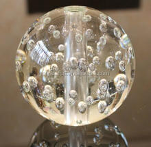 Clear glass bubble ball for table lamp,house decoration