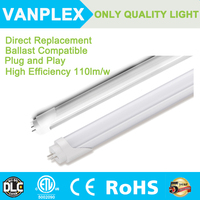 High quality 15W 1200mm compatible electronic ballast led tube light t8,directly replace t8 fluorescent tube