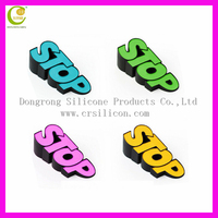 2016 Hot Sale Flexible Cartoon Design Silicone Rubber Door Stopper/ Silicone Sliding Door Stop for Baby Care