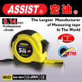 Capability steel measuring tape stainless steel tape measure/stanley tape measure,magentic 8m metric steel ruler