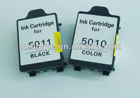 recycled inkjet for hp 14 black and color 5010 5011 cartridge