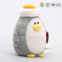 Battery operated singing music and dancing penguin plush toys