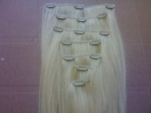 No Tangle Never Shedding Good Feedback Wholesale Unprocessed Double Drawn High Quality Cheap Brazilian Human Hair Clip IN Human