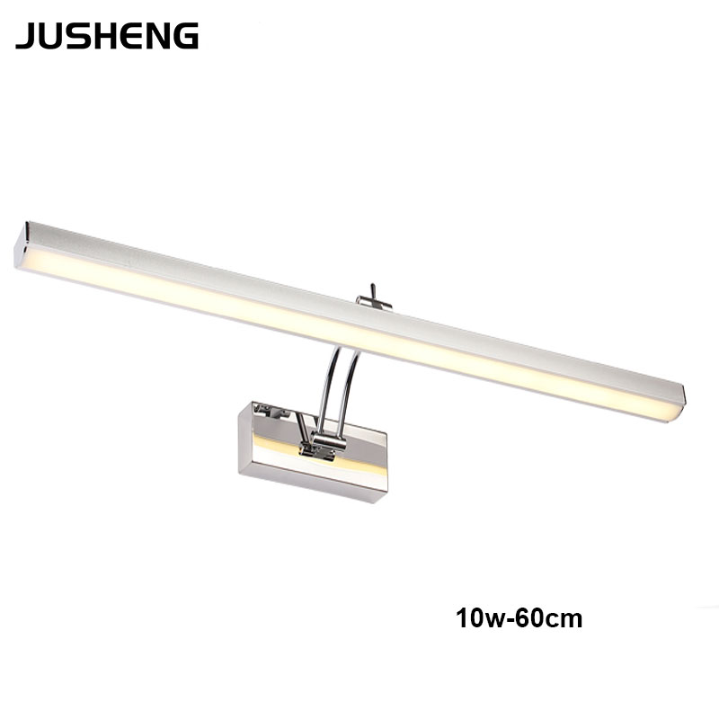 Indoor Decorative 10W 60cm Long led Wall Mounted Picture light Mirror Lamp with Rohs CE