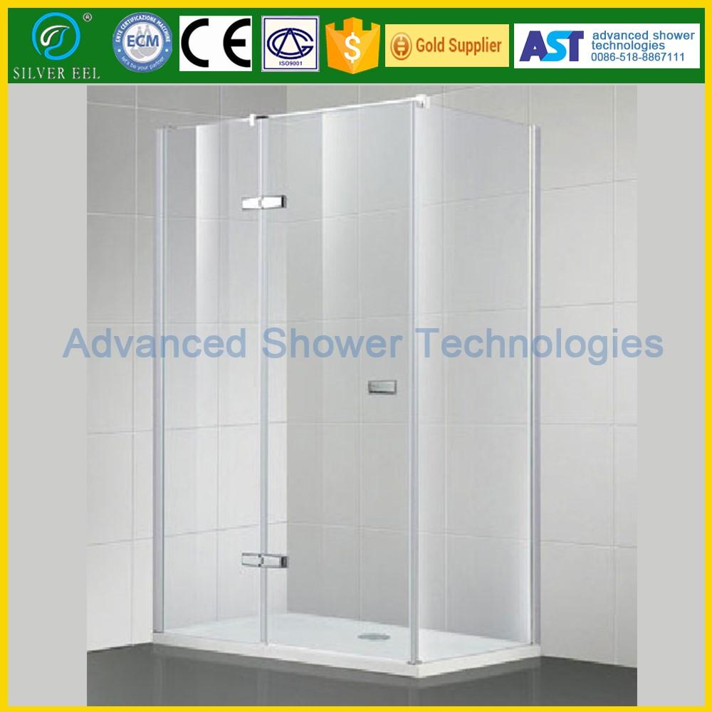 Bathroom Design Glass Hinge Door Portable Stainless Steel Shower
