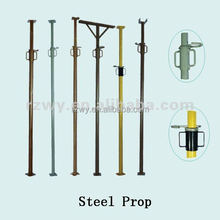 Adjustable steel props scaffolding for construction