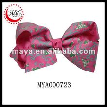Wholesale good quality Ribbon Hair Barrette plain metal barrettes For European and American markets