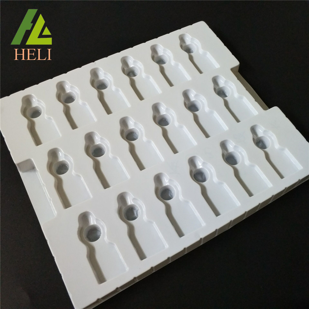 Fold Anti-static Plastic Electronic Components Trays