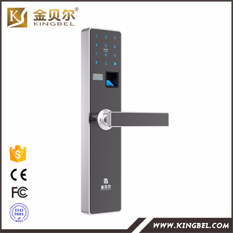 Apartment high security IC card password door lock