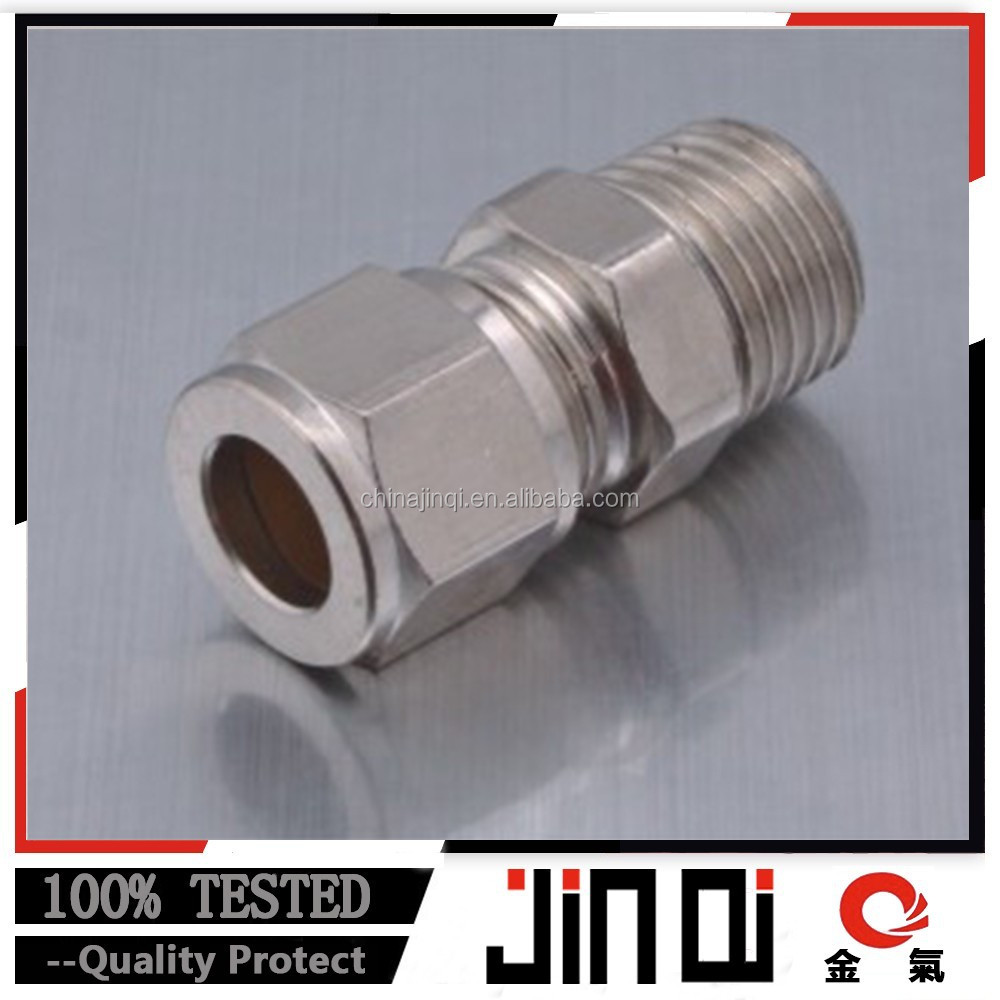 made in China PK quick sleeve type pneumatic nickel-plated brass fitting