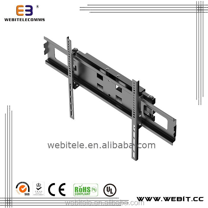 32-70 Inch+high cost performance+full motion wall mount retractable LED TV bracket