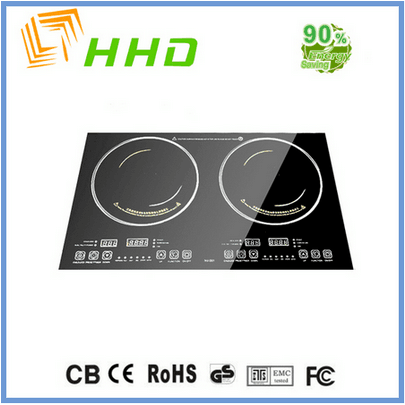 China suppliers electric induction cooker 2 burner built-in countertop hot plates