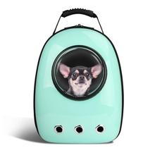 Portable Space Capsule Small Animal Carrier Pet Bubble Dome Traveler Knapsack Multiple Air Holes Waterproof Lightweight <strong>Backpack</strong>