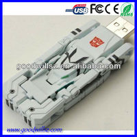 Hot-selling plastic transformers usb stick for US market