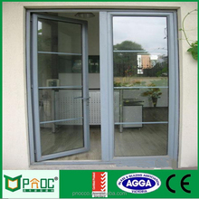 Rochetti System Profile Residential Exterior Metal Swing Door With Glass AS2047 PNOC011CMD