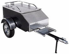 Kindleplate cheap motorbike enclosed cargo trailer with 34 years experience in metal fabrication