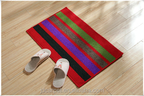 decorative waterproof kitchen plastic floor mats