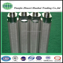 Metal cartridge filter for transformer oil purification system
